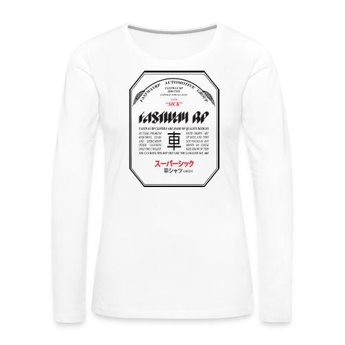 Fastway Beer can - Super Sick Beer Can - Women's Premium Slim Fit Long Sleeve T-Shirt