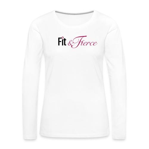 Fit Fierce - Women's Premium Long Sleeve T-Shirt
