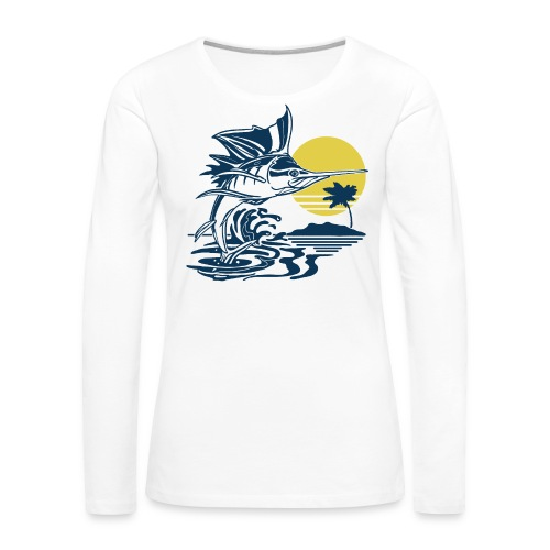 Sailfish - Women's Premium Long Sleeve T-Shirt