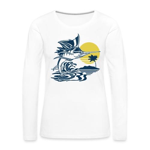 Sailfish - Women's Premium Slim Fit Long Sleeve T-Shirt