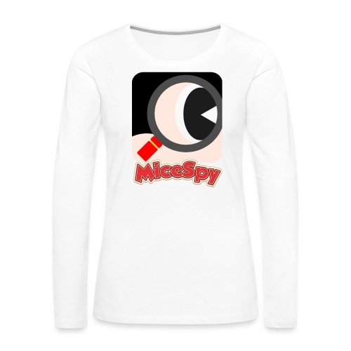 MiceSpy with your eye! - Women's Premium Long Sleeve T-Shirt