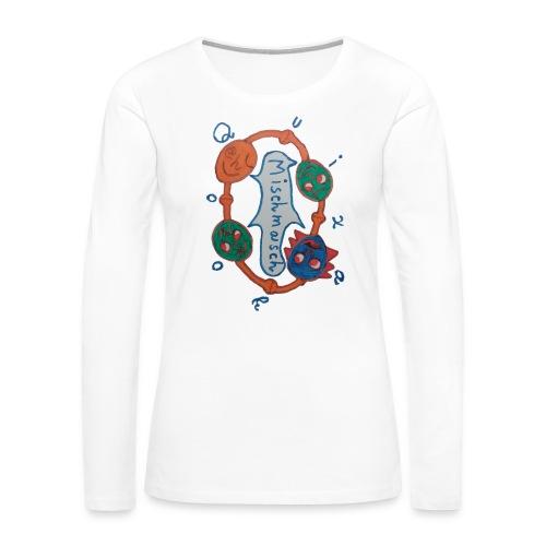 Mischmasch - Women's Premium Slim Fit Long Sleeve T-Shirt