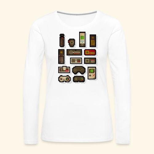 pixelcontrol - Women's Premium Long Sleeve T-Shirt