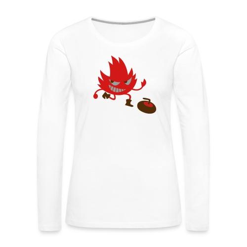 Leif Curling - Women's Premium Long Sleeve T-Shirt