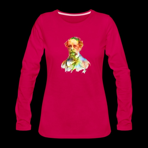 What the Dickens? | Classic Literature Lover - Women's Premium Long Sleeve T-Shirt