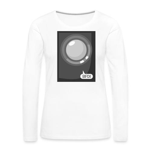 Announcer Tablet Case - Women's Premium Slim Fit Long Sleeve T-Shirt