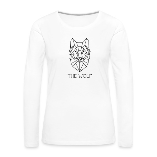 The Wolf - Women's Premium Long Sleeve T-Shirt