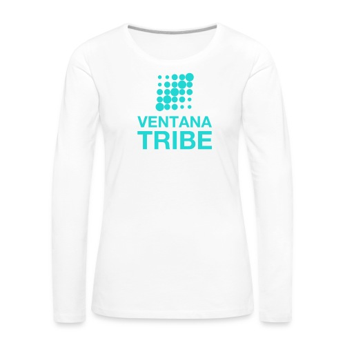 Ventana Tribe Official Logo - Women's Premium Long Sleeve T-Shirt