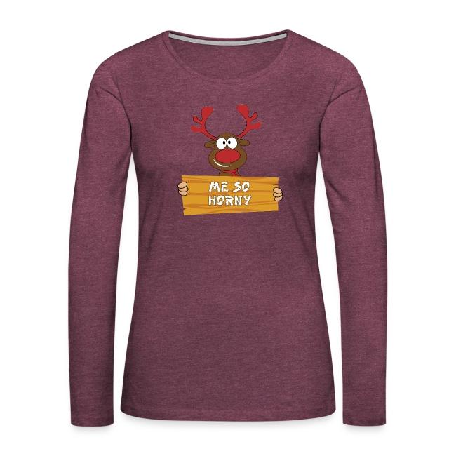 Red Christmas Horny Reindeer 3