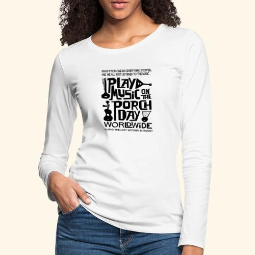 PMOTPD2021 SHIRT - Women's Premium Slim Fit Long Sleeve T-Shirt