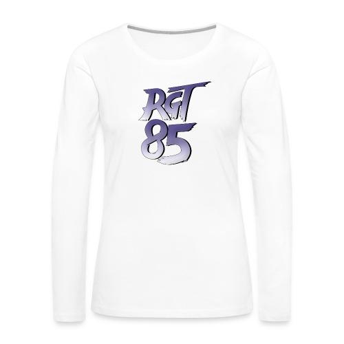 RGT 85 Logo - Women's Premium Long Sleeve T-Shirt