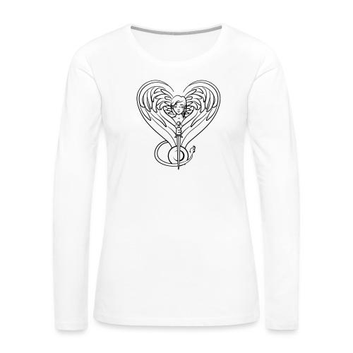 Sphinx valentine - Women's Premium Long Sleeve T-Shirt