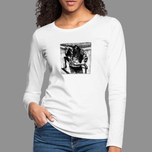 Crawl - Women's Premium Slim Fit Long Sleeve T-Shirt
