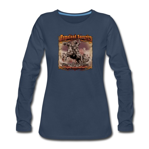 Homeland Security by RollinLow - Women's Premium Long Sleeve T-Shirt