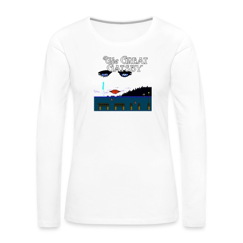 Great Gatsby Game Tri-blend Vintage Tee - Women's Premium Slim Fit Long Sleeve T-Shirt