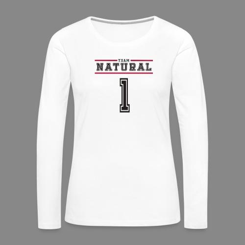 Team Natural 1 - Women's Premium Slim Fit Long Sleeve T-Shirt