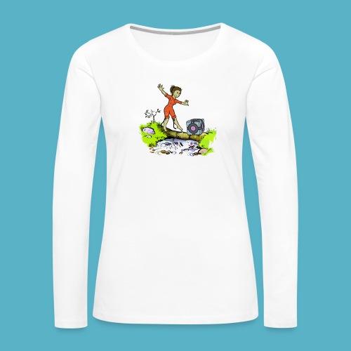 Testing Everywhere! - Women's Premium Long Sleeve T-Shirt