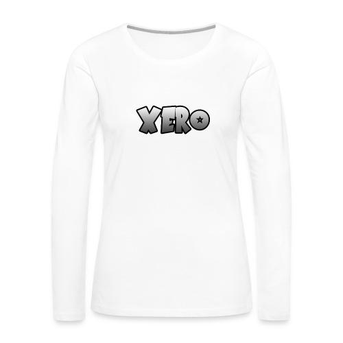 Xero (No Character) - Women's Premium Long Sleeve T-Shirt