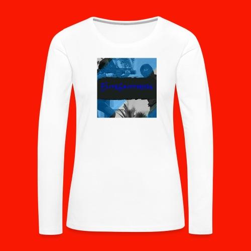EliteGlitchersRevamp - Women's Premium Long Sleeve T-Shirt
