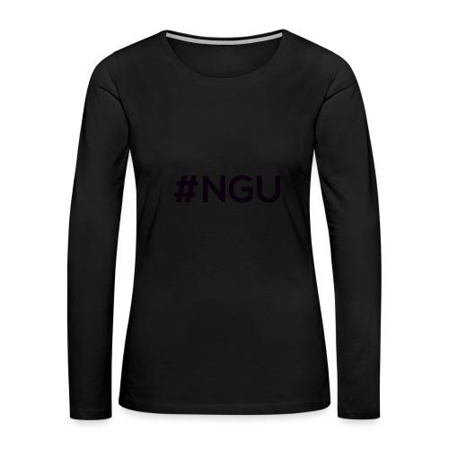 logo 11 final - Women's Premium Slim Fit Long Sleeve T-Shirt