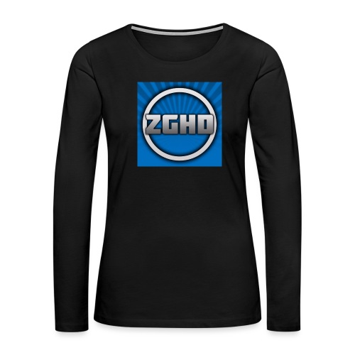 ZedGamesHD - Women's Premium Long Sleeve T-Shirt