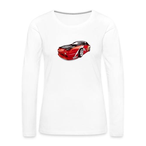 cars drift - Women's Premium Long Sleeve T-Shirt