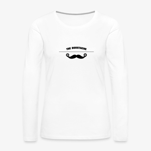 the boostage - Women's Premium Slim Fit Long Sleeve T-Shirt