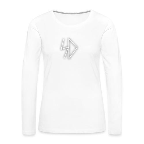Sid logo white - Women's Premium Long Sleeve T-Shirt
