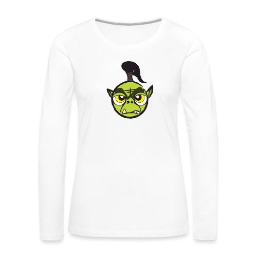 Warcraft Baby Orc - Women's Premium Slim Fit Long Sleeve T-Shirt