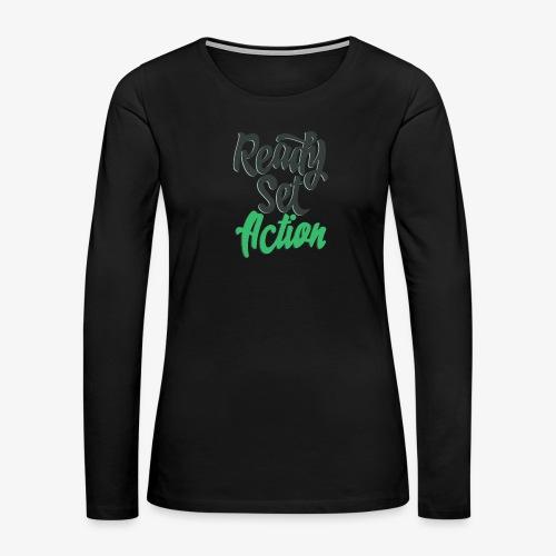 Ready.Set.Action! - Women's Premium Long Sleeve T-Shirt