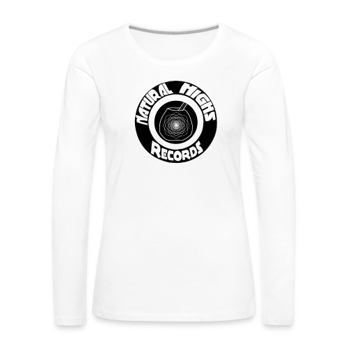 Natural Highs Records - Women's Premium Slim Fit Long Sleeve T-Shirt