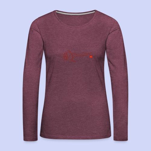 Roses - Women's Premium Slim Fit Long Sleeve T-Shirt