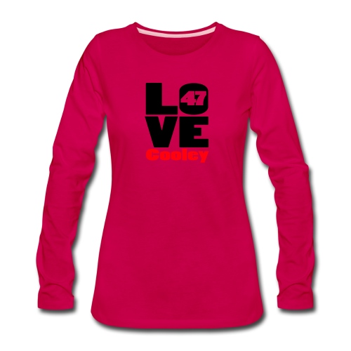 lovecooley - Women's Premium Slim Fit Long Sleeve T-Shirt