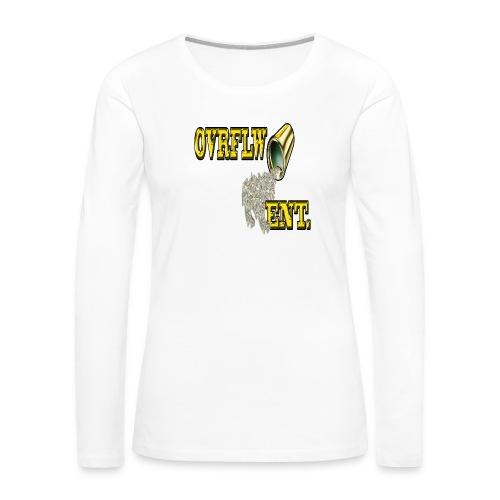 OVRFLW - Women's Premium Long Sleeve T-Shirt