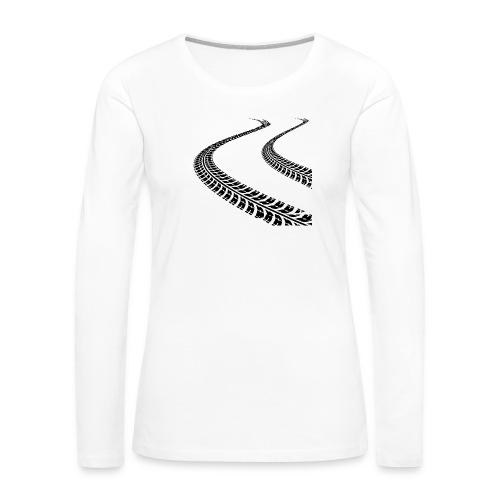 Cone Killer Women's T-Shirts - Women's Premium Slim Fit Long Sleeve T-Shirt