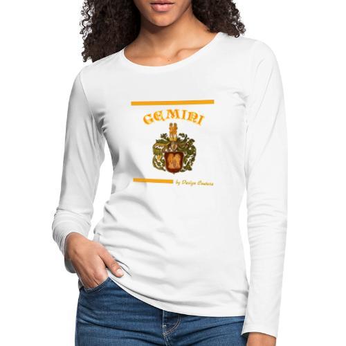 GEMINI ORANGE - Women's Premium Long Sleeve T-Shirt