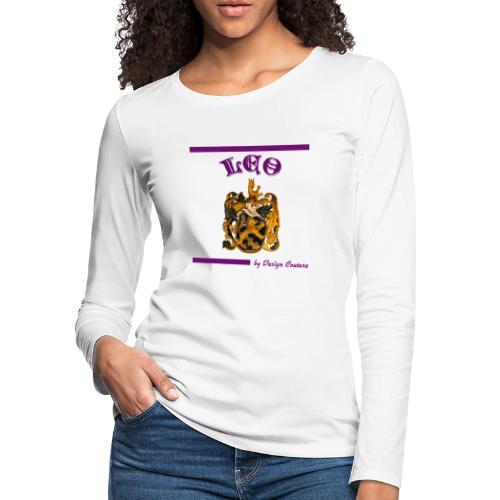 LEO PURPLE - Women's Premium Long Sleeve T-Shirt