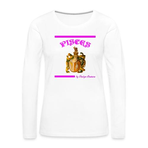 PISCES PINK - Women's Premium Long Sleeve T-Shirt