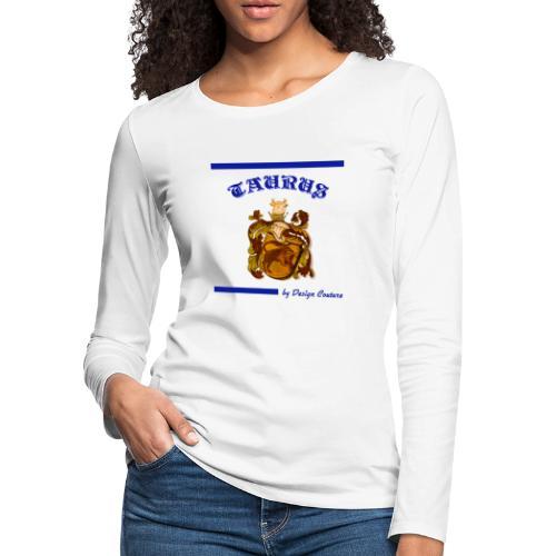 TAURUS BLUE - Women's Premium Long Sleeve T-Shirt