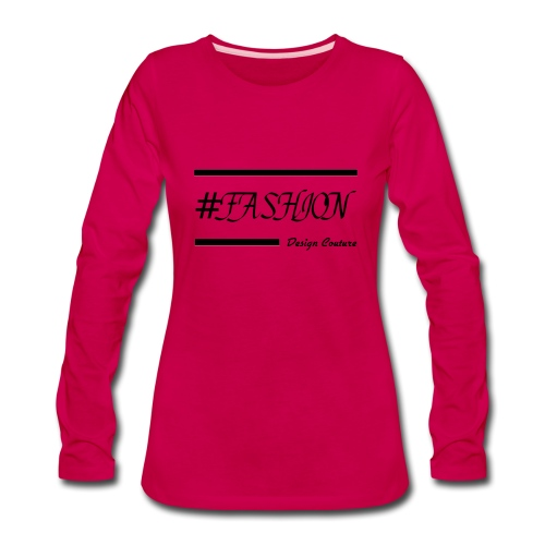 FASHION BLACK - Women's Premium Long Sleeve T-Shirt