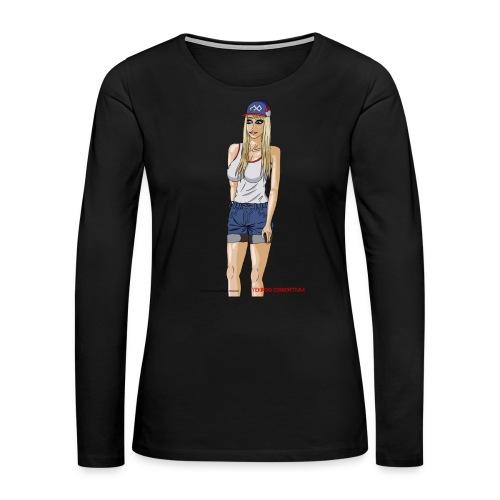 Gina Character Design - Women's Premium Long Sleeve T-Shirt