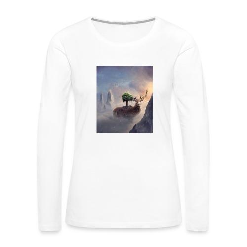 animal - Women's Premium Slim Fit Long Sleeve T-Shirt