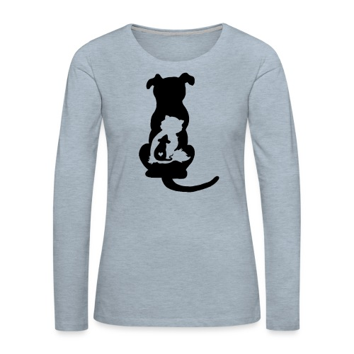 Harmony - Women's Premium Slim Fit Long Sleeve T-Shirt