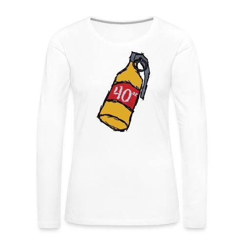 40 oz. Grenade - Women's Premium Long Sleeve T-Shirt