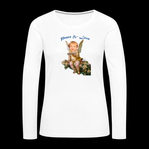 Peace and Love - Women's Premium Long Sleeve T-Shirt