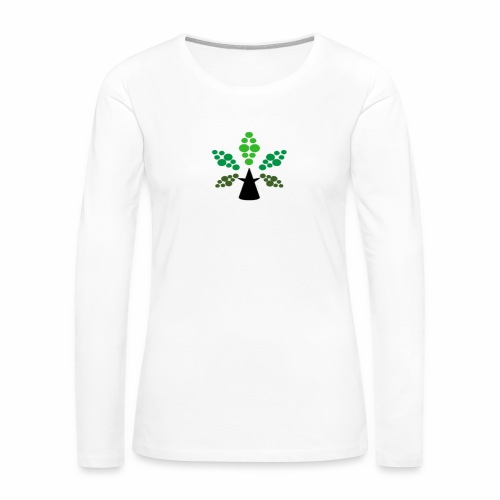 Tri City TriChomes FINAL LOGO 645AM 1 - Women's Premium Long Sleeve T-Shirt