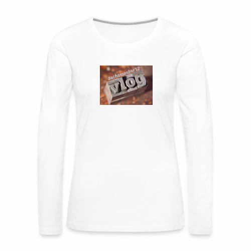 Vlog - Women's Premium Long Sleeve T-Shirt