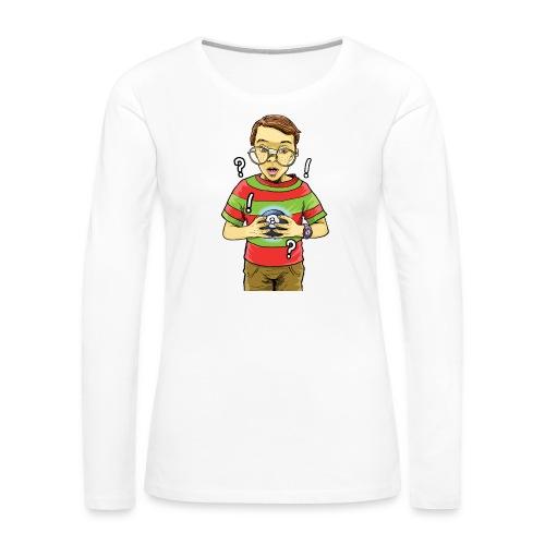 Waldo - Women's Premium Long Sleeve T-Shirt