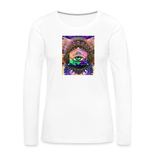 ruth bear - Women's Premium Slim Fit Long Sleeve T-Shirt