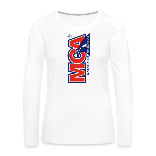 MCA Logo Iphone png - Women's Premium Long Sleeve T-Shirt